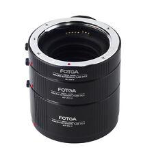 FOTGA Macro Automatic Extension DG For CANON EF EFS Lens 12mm 20mm 36mm Tube Set