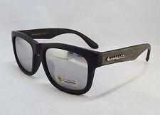 BioHazard Optics Sunglasses GRAY & BLACK Wood Grain Design Unisex Men New Shades