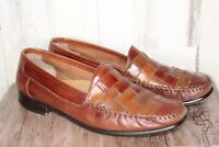 Giorgio Brutini Brown Leather Loaders 13 D  Men's Shoes