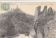 CHAMPEIX 3248 route la tour de rognon timbrée 1907
