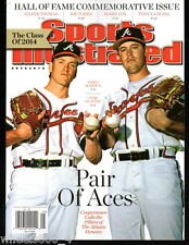 Sports Illustrated 2014 Hall of Fame Comm. Atlanta Braves  Maddux / Glavine N/Mt