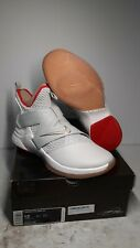 Nike Lebron Soldier XII (AO2609) Men's Size 12 In White/Grey