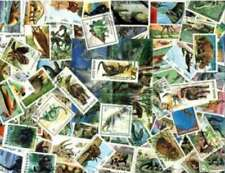 Dinosaurs, Prehistoric Animals Stamp Collection - 100 Different Stamps