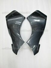 Carbon fiber look Ram Air Tube Cover Fairing Parts For Kawasaki ZX6R 05-06 33#G