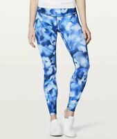 Lululemon Women's Size 6 Wunder Under Tight Full On Luxtreme Leggings In Blue