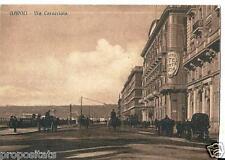 cm 056 Anni 20 NAPOLI Via Caracciolo - non viagg FP Ed. Sersale Napoli