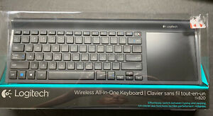 -Brand New- Logitech Wireless All-In-One Keyboard TK820 with Built-In Touchpad