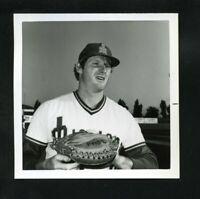 1978 KEVIN PASLEY San Jose Missions A's PCL Minor League Original Snapshot Photo
