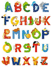Sevi Wooden Animal Letters - Your choice of letters from A to Z
