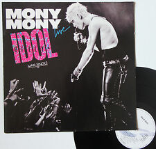 "Vinyle maxi Billy Idol  ""Mony mony - Live"""