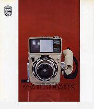 Linhof Press 70 Camera Advertisement, 1967: Color and B&W, Original Vintage AD