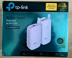 TP-Link TL-WPA8630P KIT AV1300 Gigabit Powerline ac Wi-Fi Kit
