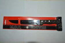 Vintage Ivo 8 Inch Chef Carving Knife M.C.R. 3505-H Portugal New-Old Stock Wood
