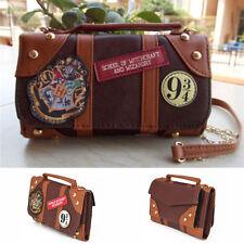 Hogwarts Harry Potter Wallet Messenge Bag PU School Badge Crossbody Clutch Purse