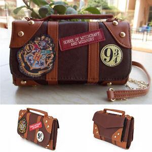 Ladies Messenger Bag School Badge Chain Crossbody Ideal Gift  For Harry Potter