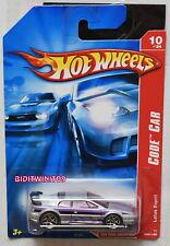 HOT WHEELS 2007 CODE CAR LOTUS ESPRIT #094/180 SILVER & PURPLE