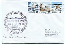 1993 GANOVEX German North Victoria Land Christchurch Polar Arctic Cover SIGNED