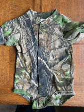 Realtree Camo Camouflage Baby Infant Newborn Short sleeves creeper coming home