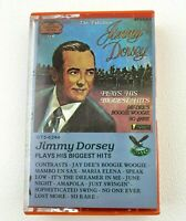 Jimmy Dorsey Plays His Biggest Hits Cassette Tape 1974