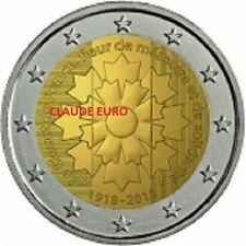Pièces euro de la France pour 2 Euro Année 2018