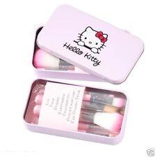 Hello Kitty Makeup Brush Set - 7 Piece Set with Storage Box