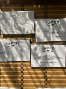 Creed various  fragrance samples new