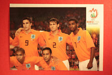 Panini EURO 2008 N. 256 SQUADRA NEDERLAND NEW With BLACK BACK TOPMINT !!!