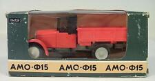 URSS USSR 1/43 ZIL Amo f15 Oldtimer ROSSO FIAT 15ter in O-Box #127