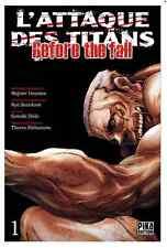manga L'Attaque des Titans - Before The fall Tome 1 Seinen Hajime Isayama Pika