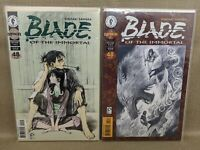 Blade of the Immortal Rin's Bane #1-2 Complete Set Issue #19-20 Dark Horse