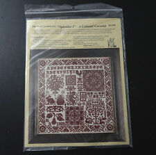 The Heart's content Splendor 1 A colonial Coverlet cross stitch kit #69