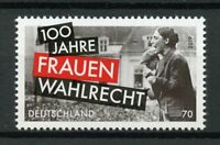 Germany 2019 MNH Womens Suffrage Voting 1v Set Historical Events Stamps