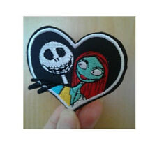 Jack and Sally - Nightmare Before Christmas - Embroidered Iron On Patch