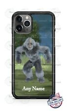 Yeti Bigfoot in the Woods Customize Phone Case For iPhone Samsung S20 LG Google