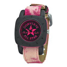 Converse Premium Black Dial Pink Canvas Unisex Watch VR-029-600