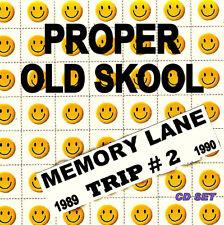 RAVE ACID HOUSE 2 DISC CD SET OLD SKOOL  MEMORY LANE TRIP PART 2