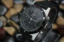Vintage VOIT Chronograph Landeron 248 Ref. 2501 20 ATU Skin 666 S.S. Dive Watch