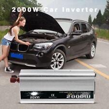 2000W Max 4000W 12V-220V Power Pure Sine Wave Inverter Car Caravan Camping Bo CN