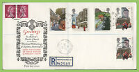 G.B. 1985 Royal Mail set on First Day Cover, St Andrews Church. Hornchurch cds