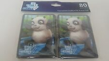 Star City Games Panda TCG Card Sleeves Pack Of 80 Brand New Free S&H MTG