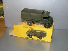 French Dinky 821 Camionnette Militaire Unimog Mercedes-Benz mint boxed
