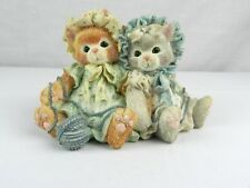 "Calico Kittens Figurine Cat ""You're Always There When I Need You� Hillman 1992"