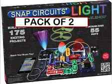 (PACK OF 2) Snap Circuits LIGHT SCL-175  iPod and iPhone compatible 175 projects