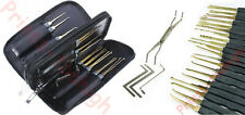 lockpicking lock pick set locksmith tools crochetage serrure unlocking Goso