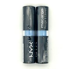 """""""Earl Grey"""" 2 Pack NYX Macaron Lippie MALS08 New Factory Sealed Cruelty Free"""