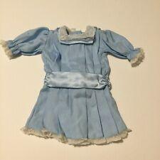 American Girl Doll Samantha Skating Party Lig 00004000 ht Blue & White Lace Dress