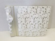 CR Gibson Classic Wedding Memory Guest Book Modern Love