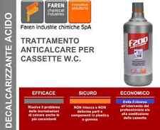 ANTICALCARE PER CASSETTE SCARICO WC LT. 1 FAREN F200 CASSETTA ALTA ZAINO CALCARE