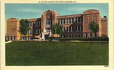 Radford, Virginia, High School - Postcard - Vintage