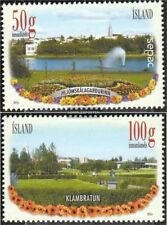 Iceland 1431-1432 (complete.issue.) unmounted mint / never hinged 2014 Flowers